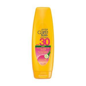 افون كير صن + 3 في 1 لوشن واقي من الشمس الوجه و الجسم بعامل حماية من الشمس SPF30 1403476 150ml