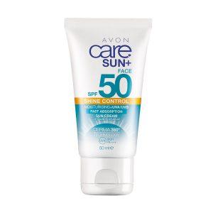 إفون كير صن كريم مرطب لبشرة الوجه واقي من الشمس يتحكم في لمعان البشرة SPF50 12365 50ml