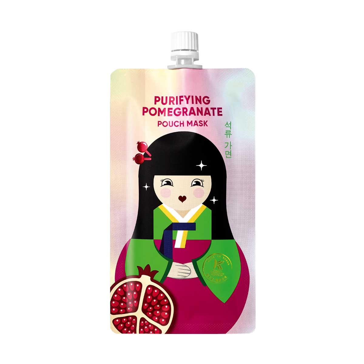 Korean Beauty Purifying Pomegranate Pouch Mask 1318229 10ml